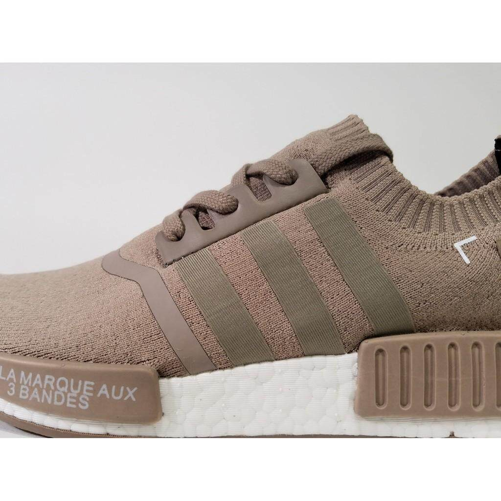 292e07f6c Original Adidas NMD R1 PK Cream Truth Boost women men running shoes Casual  shoes