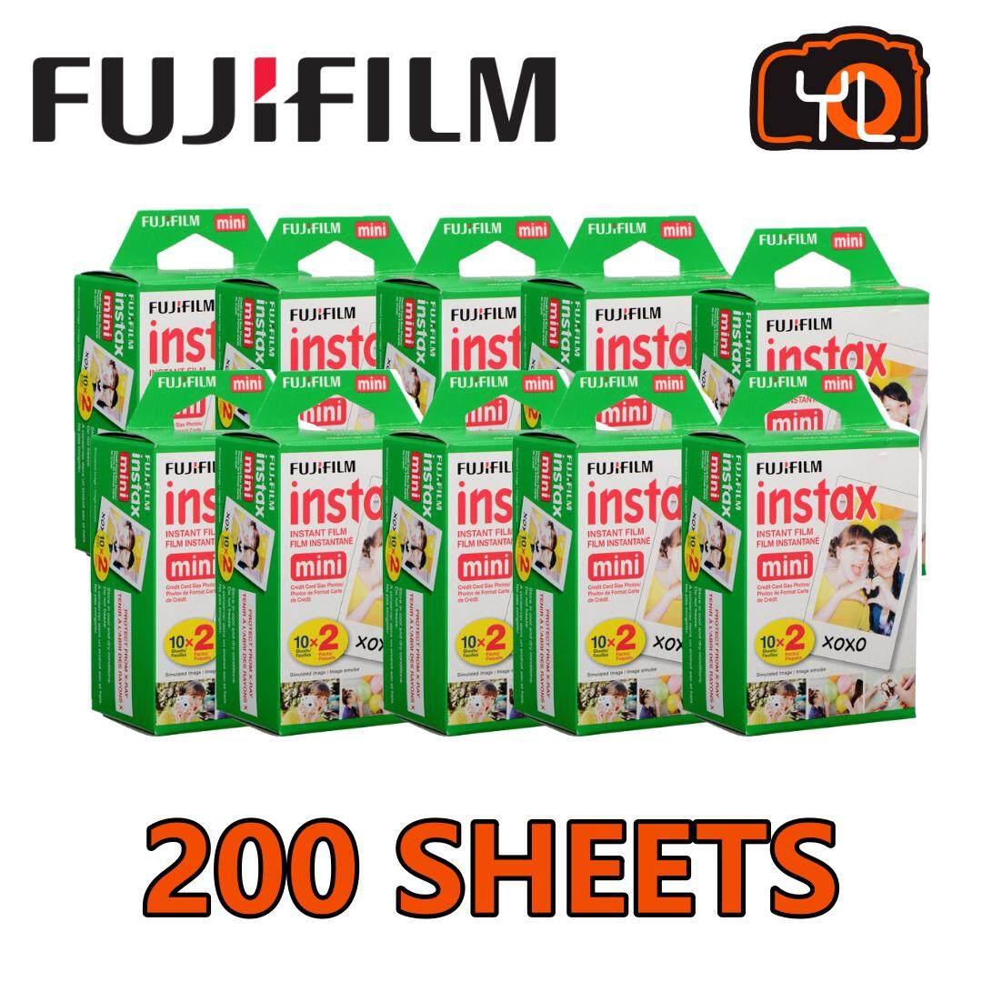 Fujifilm Instax Mini Instant Film (200 Exposures) By Yl Camera.