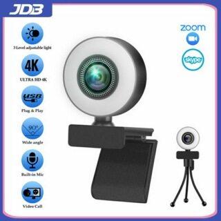 Máy Ảnh JDB Buguangmei 5 Triệu HD 4K2K, Micrô Tích Hợp, Phiên Bản Cá Nhân, Chức Năng Nhìn Ban Đêm, 30 Khung Hình Giây, Thích Hợp Cho Webcam Máy Tính Trực Tiếp USB XP WIN 7 WIN 8 WIN10 thumbnail