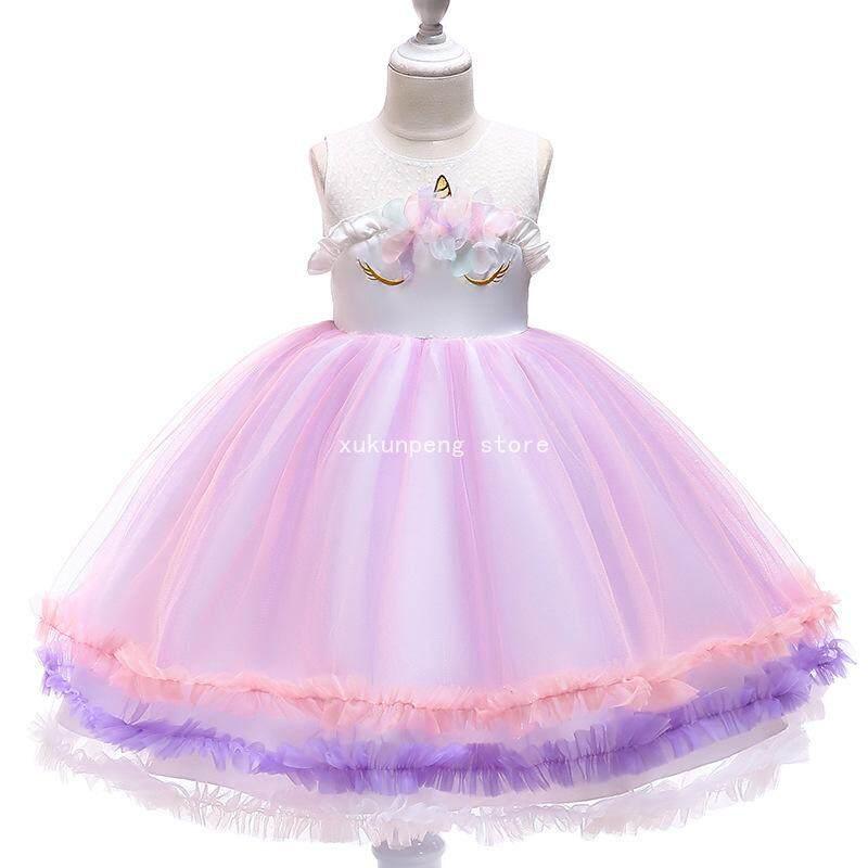 Giá bán Xukunpeng Store Cô Gái Đầm Công Chúa Kỳ Lân Váy