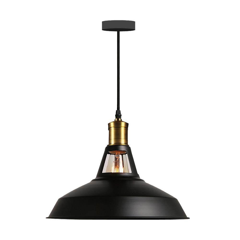 Industrial Iron Art E27 Pendant Light Lamp Kitchen Dining Hang Lampshade