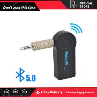 ( Đọc ) Bộ Chuyển Đổi Thu Bluetooth Không Dây Có Mic Bộ Phụ Kiện Xe Hơi Thông Dụng Rảnh Tay Bộ Thu Nhạc Âm Thanh Stereo Aux Giắc Cắm 3.5Mm Loa DVD PC Gia Đình Cho Điện Thoại Xe Hơi Tai Nghe MP3 thumbnail