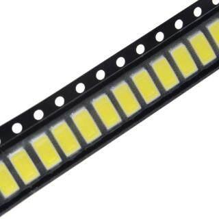 100 Cái 5730 5W-150Ma 50-55lm 6500K Ánh Sáng Trắng SMD 5730 LED 5730 Điốt thumbnail