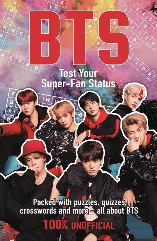 BORDERS Bts: Test Your Super-Fan Status by Kate Hamilton (author) Malaysia