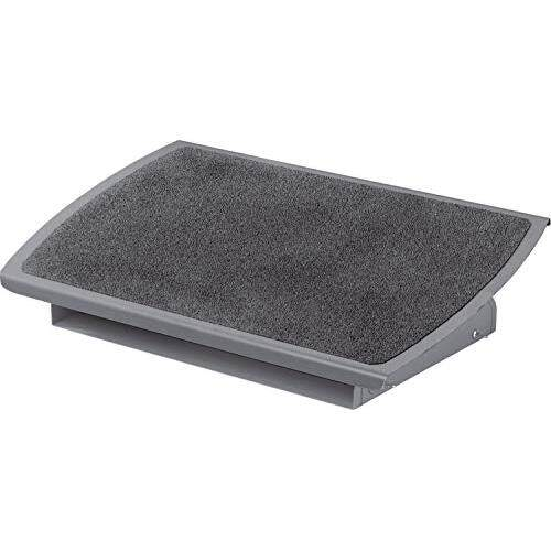 3M Foot Rest, Height and Tilt Adjustable, 22 Extra Wide Platform with Safety-Walk Slip Resistant Surface Provides Ample Room for Both Feet, Heavy Duty Steel Construction, Charcoal Gray (FR530CB)