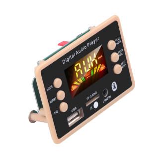 Bluetooth 5.0 MP3 Bộ Giải Mã, Mô-đun Bảng Giải Mã Máy Nghe Nhạc MP3 USB Hỗ Trợ Thẻ TF WMA WAV 5V 12V USB FM Đối Với Xe thumbnail