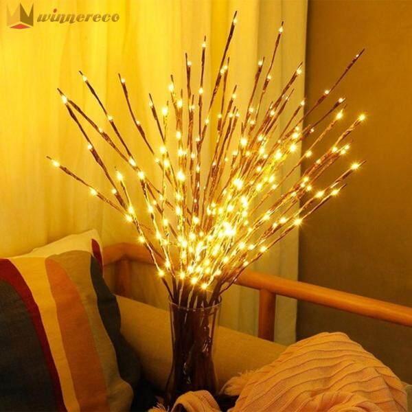 Bảng giá 20 Đèn LED Liễu Cành Cây Đèn Cao Vase Filler Twig Thắp Sáng Vườn Home Party Lễ Hội Đồ Trang Trí