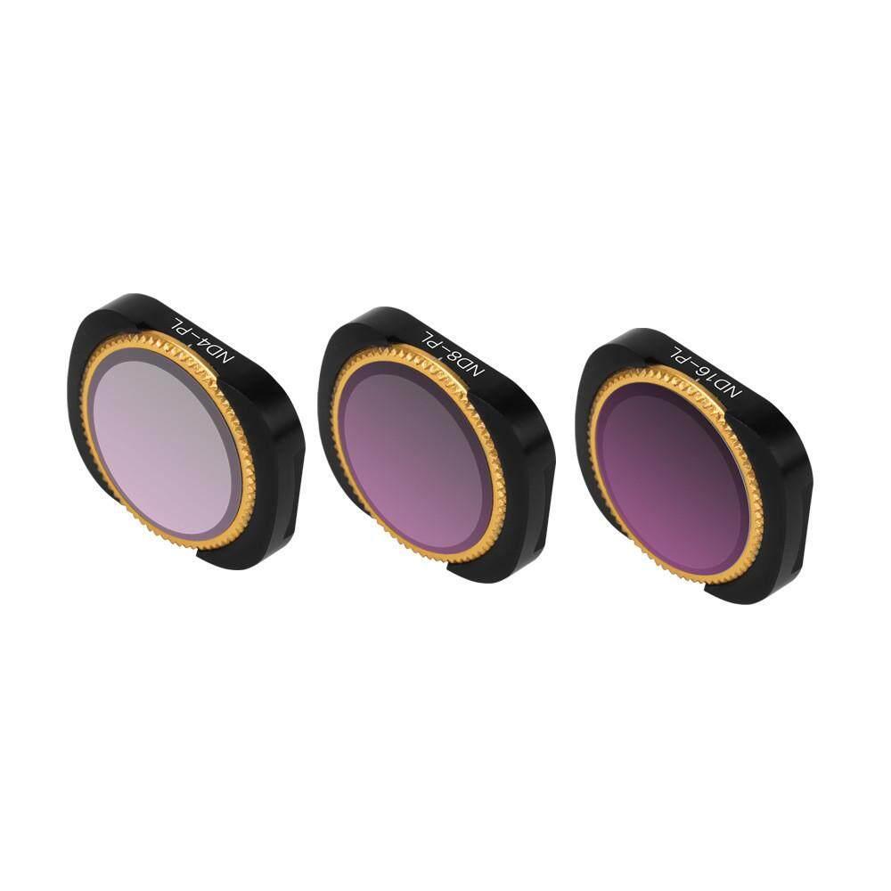 Docesty 3pc Nd4-Pl+nd8-Pl+nd16-Pl Camera Lens Filters For Dji Osmo Pocket Camera By Docesty.
