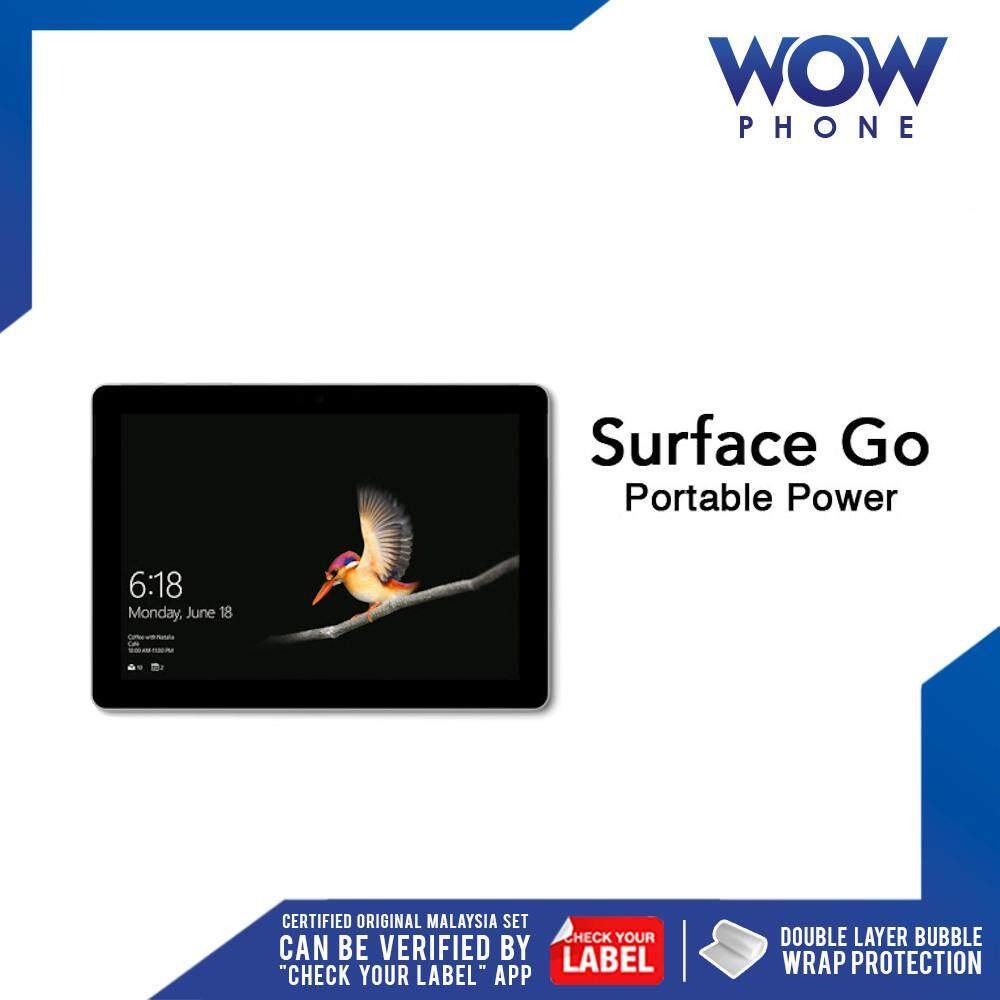 [Best Value!!] Microsoft Surface Go Intel Pentium Original Tablet (4GB RAM + 64GB ROM / 8GB RAM + 128GB ROM) 1 Year Warranty by Microsoft Malaysia!! Malaysia