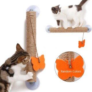 Sisal Cột Cho Mèo Cào Khung Leo Đồ Chơi Anti-Scratch Đồ Chơi Cho Mèo Cào Bài Leo Núi Cột Bền Đồ Chơi Tương Tác thumbnail