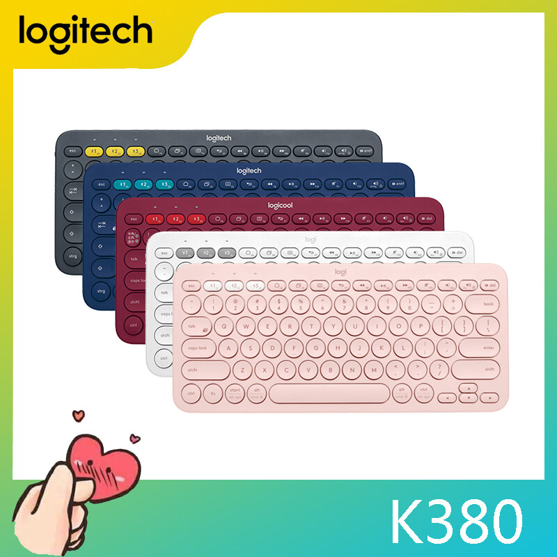 Logitech l K380 Origina Wireless Bluetooth Keyboard Multiple Devices Ultra Mini Keyboard for iPhone iPad Android Singapore