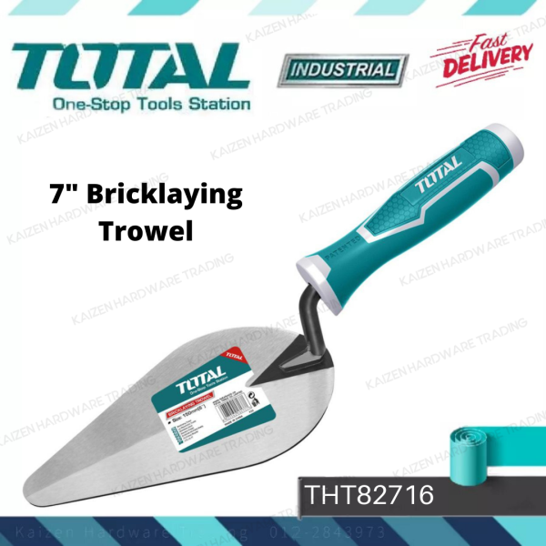 Total 7  Bricklaying Trowel (THT82716)
