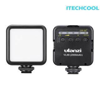 Đèn LED Lấp Đầy Hình Ảnh ULANZI VL49 Tích Hợp Đèn Pin Dành Cho Điện Thoại Và Máy Ảnh thumbnail