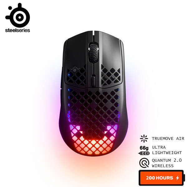 SteelSeries Aerox 3 Wireless Ultra Lightweight RGB Gaming Mouse (62604) Malaysia