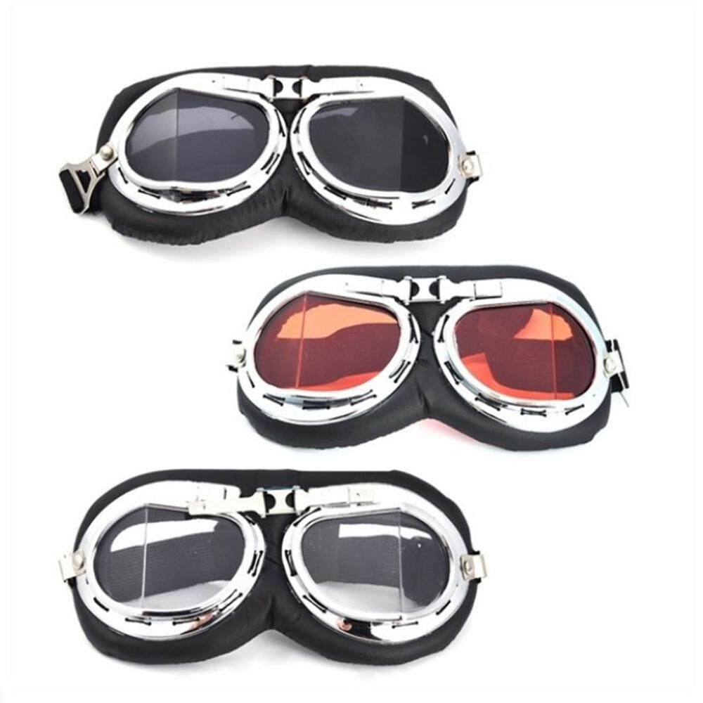 1* Eye Protection Protective Gears Vintage Sunglasses Pilot Motorcycle Glasses Retro Goggles Cruiser Scooter
