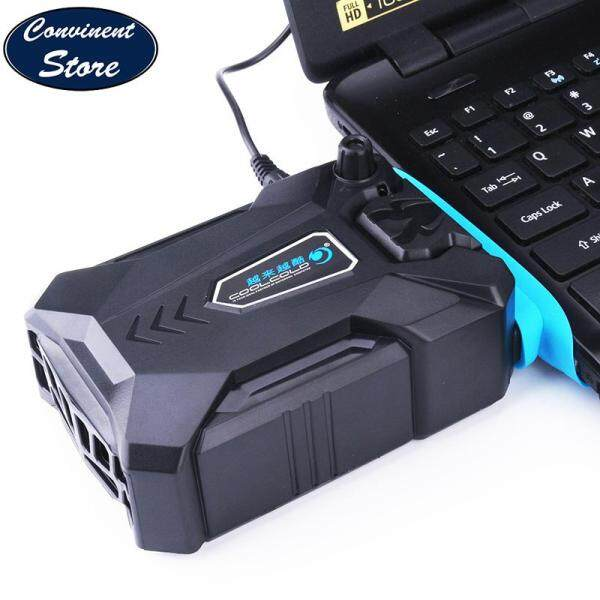 ✅Vacuum Portable Notebook Laptop Cooler USB Air External Extracting Cooling Fan Speed Adjustable for Notebook, Laptop with 3 Size Wind Sleeves