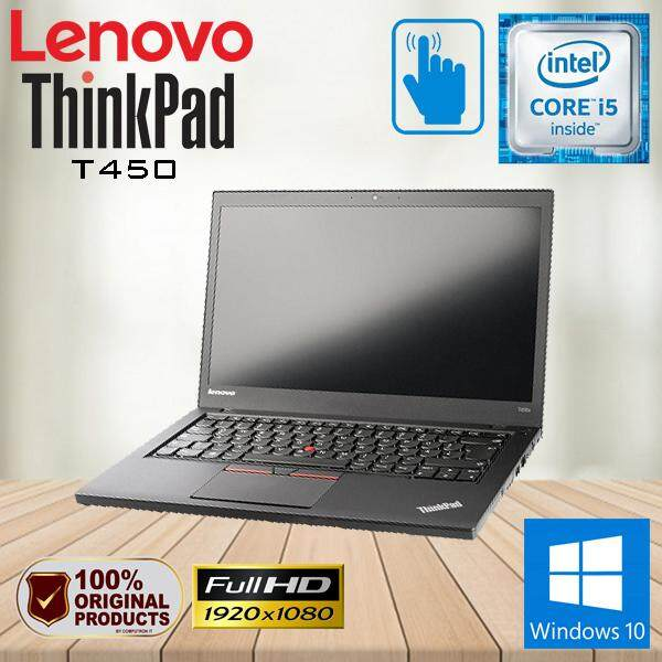 LENOVO THINKPAD T450 ULTRABOOK TOUCHSCREEN - CORE I5 / 8GB / 240GB SSD / FHD /  WINDOW 10 PRO GENUINE [2 YEAR WARRANTY] Malaysia