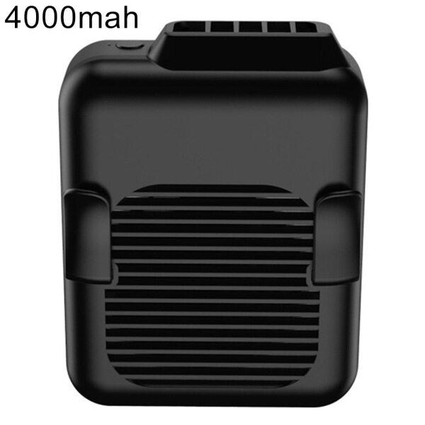 Delans®Mùa Hè Di Động Mini USB 3 Bánh Răng Treo Dây Buộc Trên Vành Đai Quạt Làm Mát Không Khí