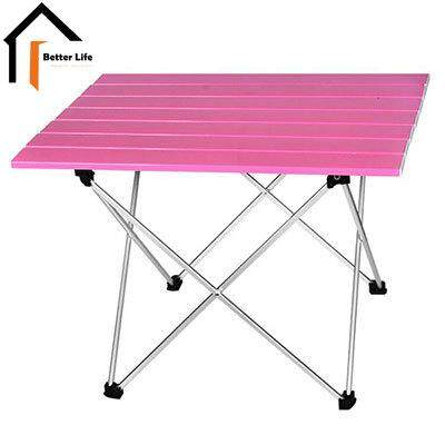 Dream Best~Outdoor ultra light portable aluminum folding table barbecue camping table