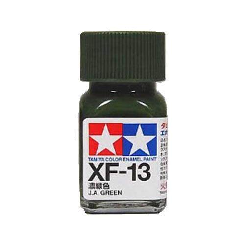 Tamiya Color Enamel Paint XF-13 J.A. Green (10ML)