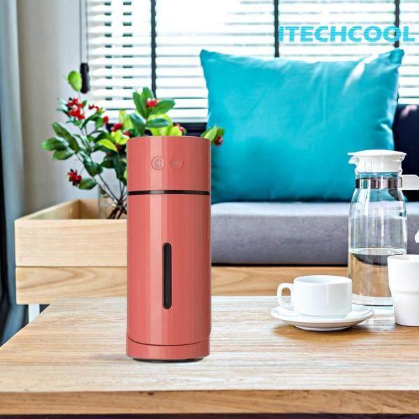 Home Office Tilt Humidifier Portable Essential Oil Diffuser Car Purifier Cool Mist Maker Singapore