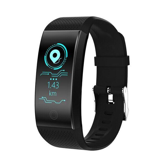 Đồng Hồ Thông Minh Nam Nữ Mới 2020 Theo Dõi Sức Khỏe Nhịp Tim/Huyết Áp/Pedometer Vòng Đeo Tay Thể Thao Chống Nước Bluetooth