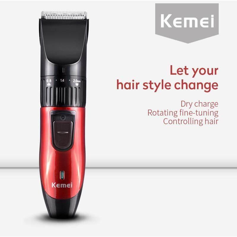 Kemei KM-730 Cắt tóc có thể sạc lại Máy cắt tóc Máy cạo râu điện cho nam Beard Tông đơ cắt tóc chuyên nghiệp nhập khẩu