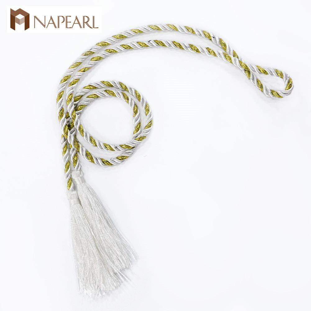1 pcs Curtain Tiebacks Simple Solid Color Living Room Bedroom Home Decor Tie Rope(Must be ordered with the curtains)