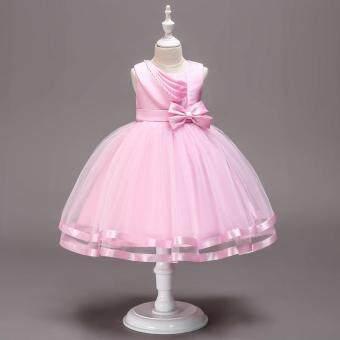 Gadis Gaun Pesta Putri Fancy Anak-anak Gaun untuk Gadis Bunga Gaun Pernikahan Bayi Pakaian Perempuan