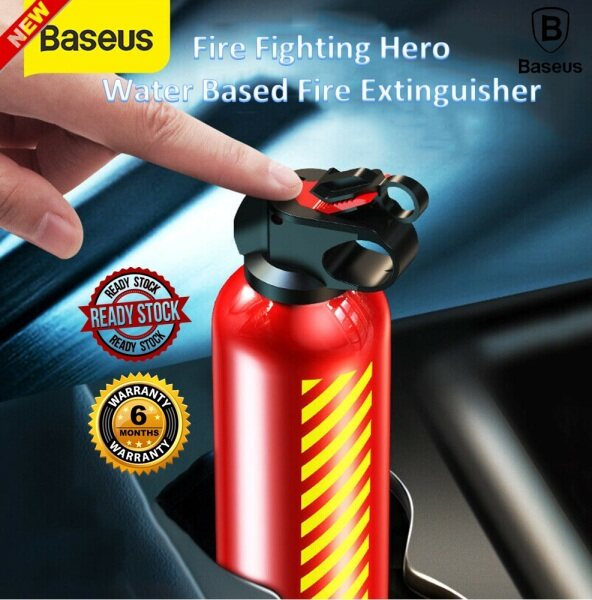 BASEUS Fire-fighting Hero Mini Portable Car Fire Extinguisher with Hook