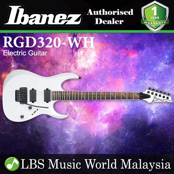 Ibanez RGD320 Solid Body Basswood Humbucker Pickup Electric Guitar White (RDG 320) Malaysia