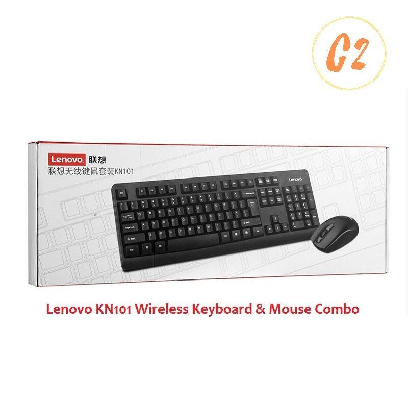 Lenovo KN101 Wireless Keyboard and Mouse Combo Malaysia