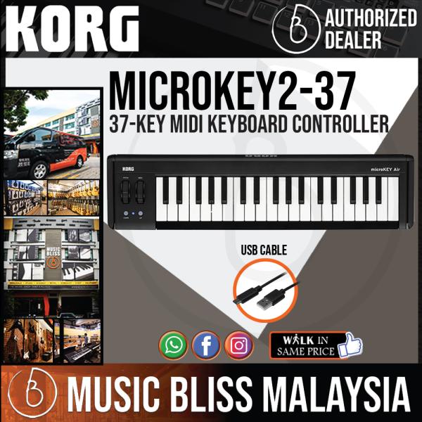 Korg microKEY2 37 Mini-Key Midi Keyboard (microKEY2-37) Malaysia