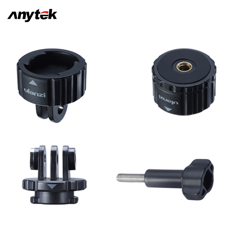 Anytek Magnetic Quick Release Mount Adapter For Dji Osmo Action For Gopro 8 7 6 5 Max Action Camera Ulanzi Gp-4.