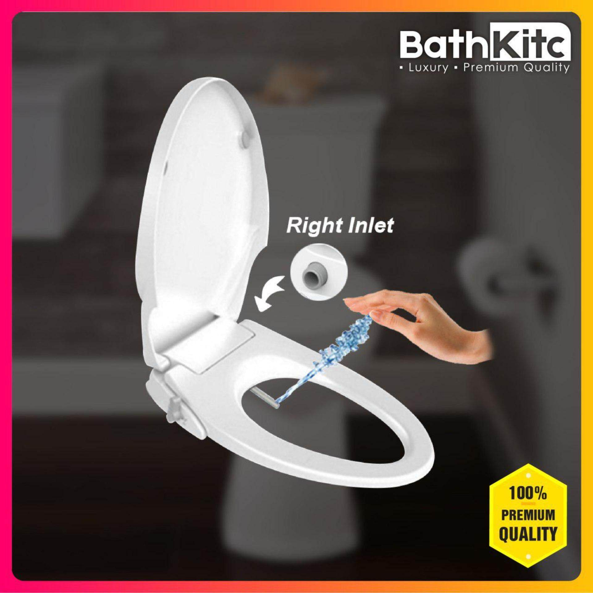 Surprising Bathkitc Bathroom Toilet Bidet Seat Cover V Shape Right Inlet Gmtry Best Dining Table And Chair Ideas Images Gmtryco