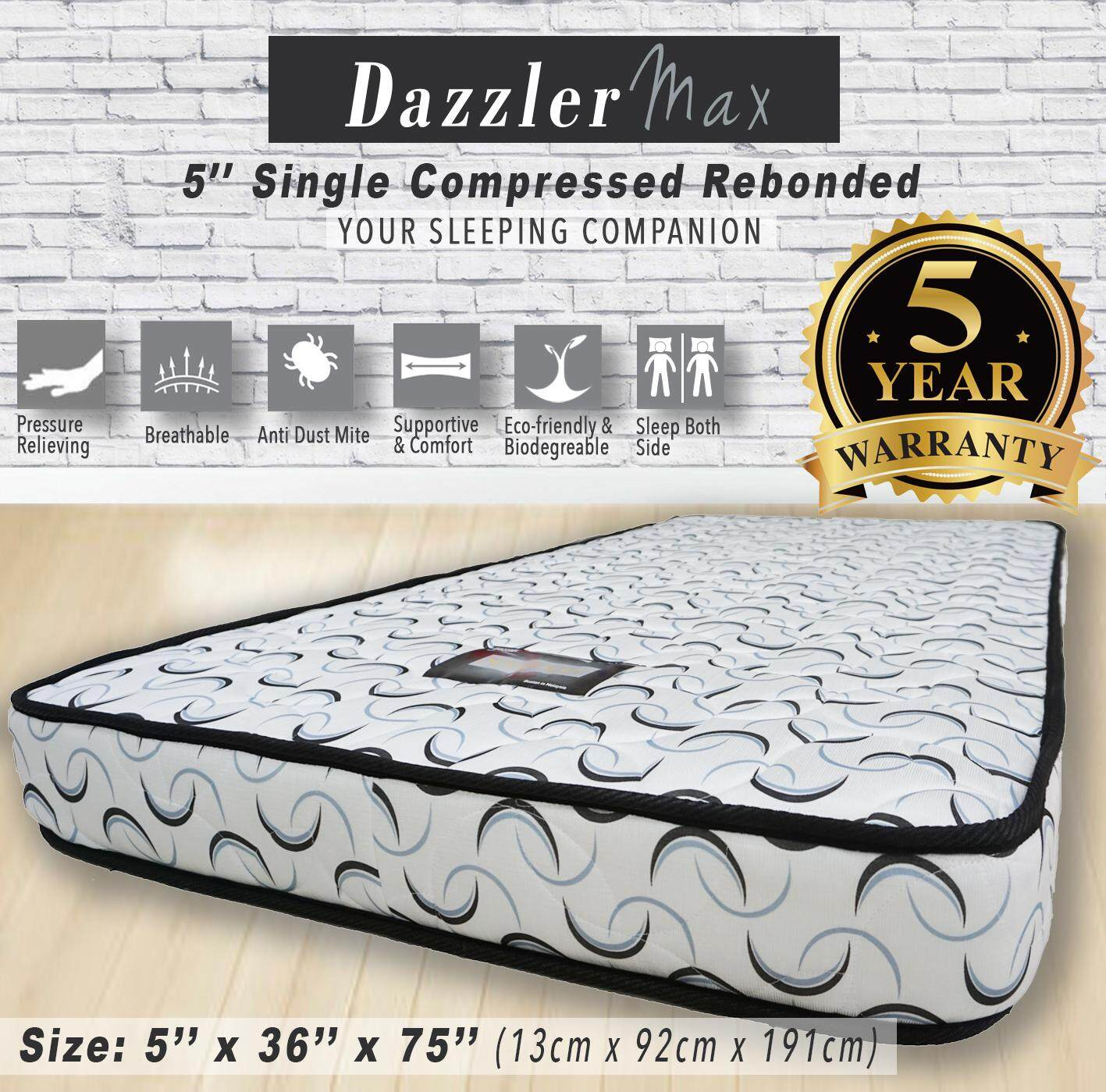 Ratings On Mattresses >> Mattresses By Dazzler Max Reviews Ratings And Best Price In