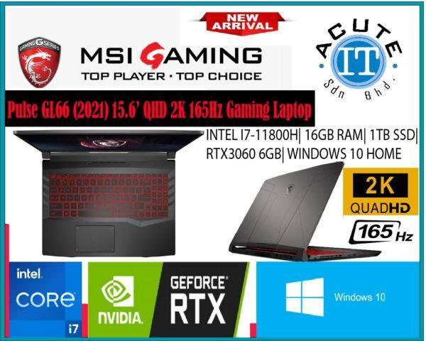MSI Pulse GL66 11UDK-277 15.6 QHD 165Hz Gaming Laptop Malaysia