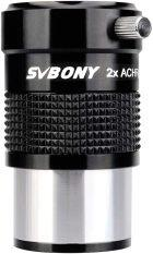 SVBONY SV118 1.25 Inch 2x Achromatic Barlow Hoàn Toàn Đa Lớp Độ Phân Giải Cao Chỉnh Màu