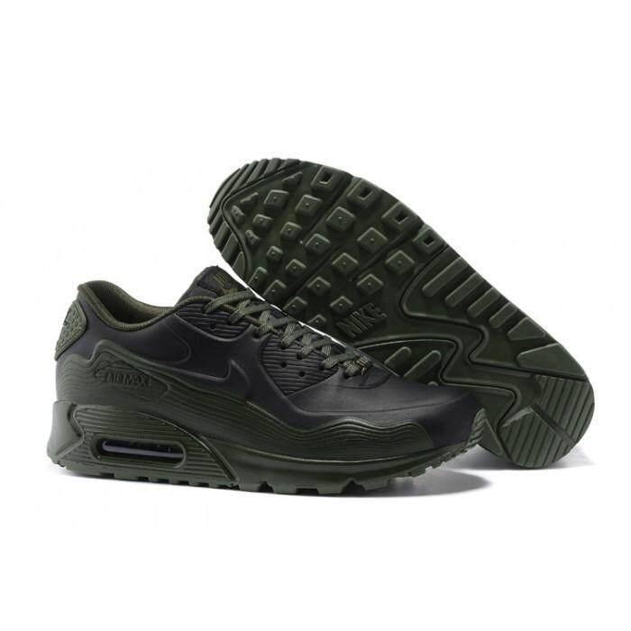 Nike_Official_Air_Max_90 VT Hitam Hijau Tentara Euro 40-46 Sepatu