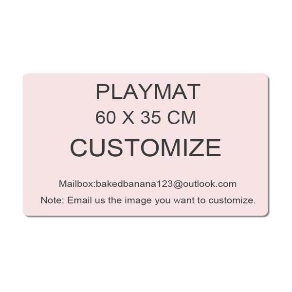 Customize Playmats - Board Game TCG Playmats Table Mat Games Size 60X35 cm Custom Mousepad Play Mat for TCG LCG Yugioh Magic The Gathering Malaysia