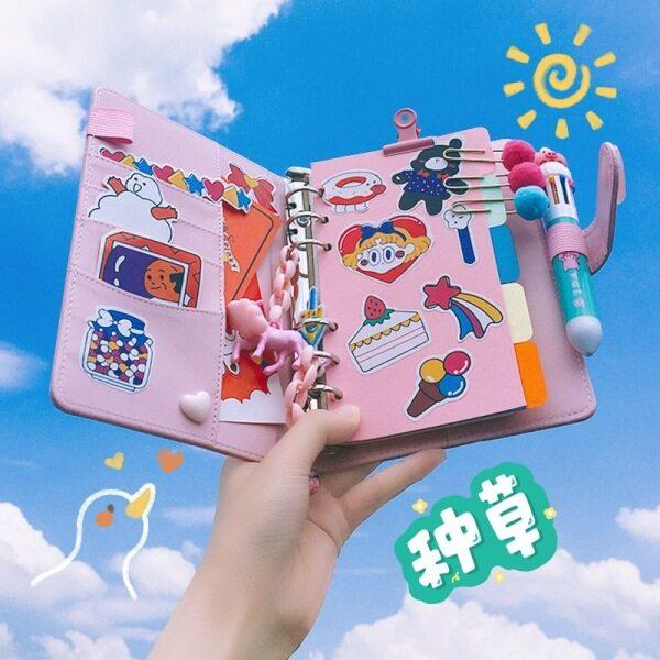 Mua ShinyLuck Sách Nhật Ký Màu Hồng Trái Tim Bé Gái 18 Sản Phẩm Sổ Nhật Ký Dễ Thương Với Rất Nhiều Phụ Kiện Bộ Nhật Ký TikTok Bộ Nhật Ký Sang Trọng