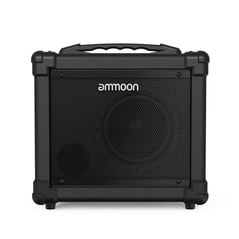 ammoon GA-10 10W Portable Electric Guitar Amplifier Amp BT Speaker Supports Clean/Distortion Modes AUX IN Gain Bass Treble Volume Control AU plug Malaysia