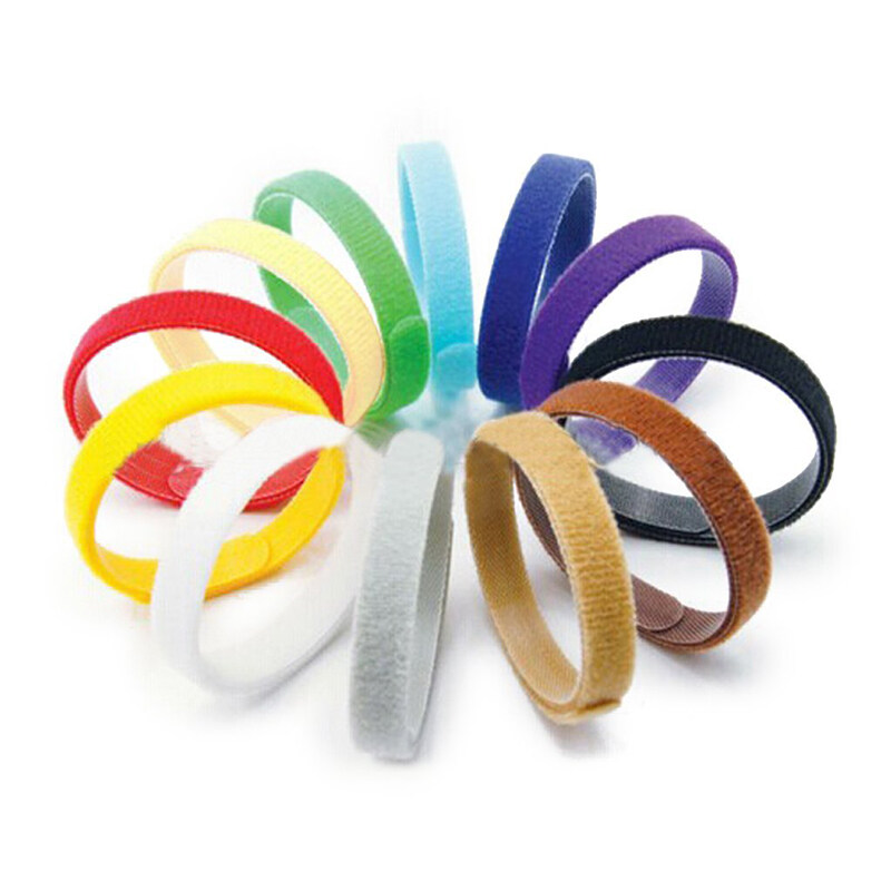 Giá Lot of 12pcs 12 Colors Necklace ID Identification Adjustable Self-Adhesive Ribbon for Puppy