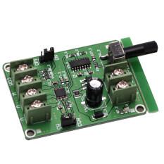 Bộ điều khiển Bảng điều khiển không chổi than EL 1PC 5V-12V DC cho động cơ ổ cứng 3/4 dây