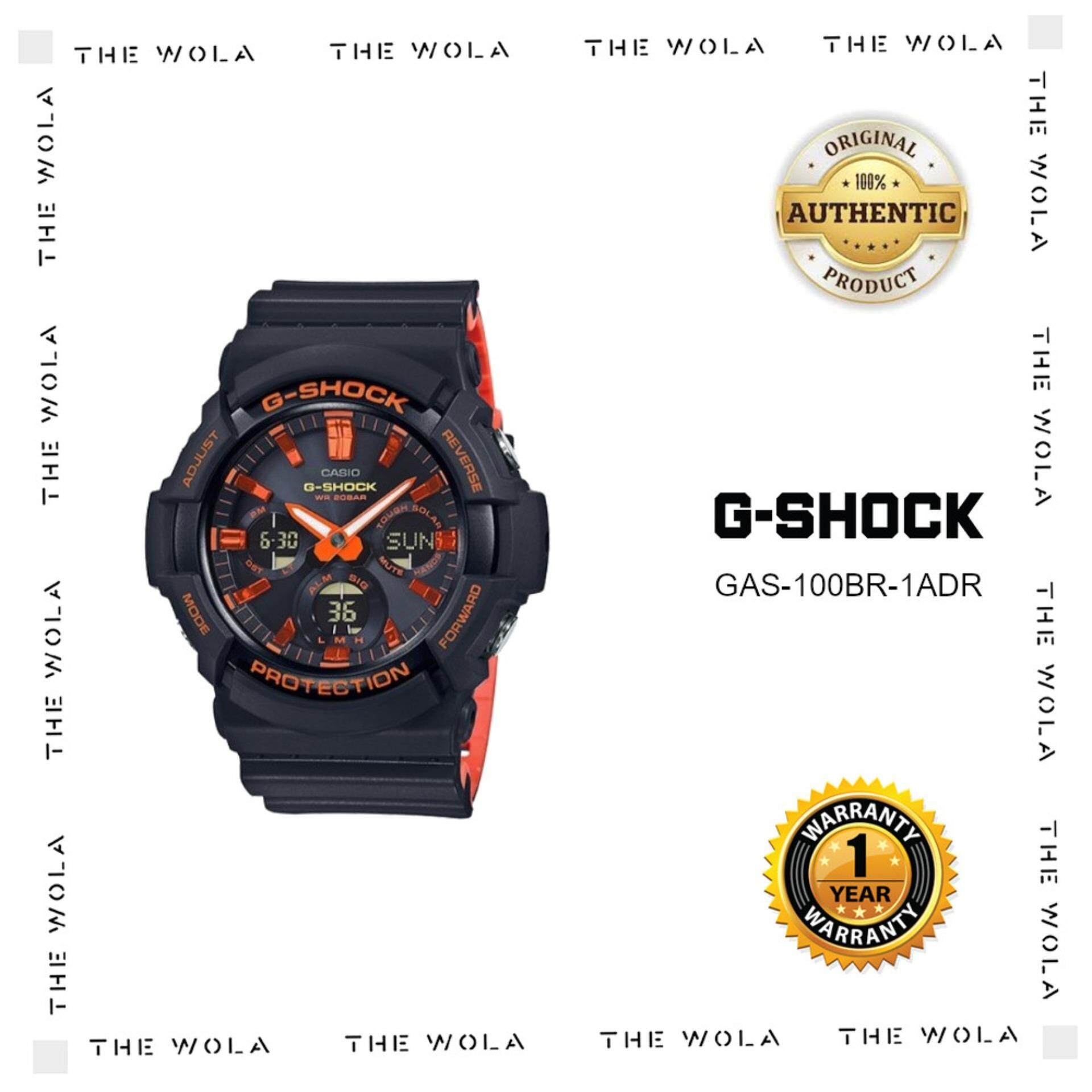 CASIO G-SHOCK SPORT MEN WATCH GAS-100BR-1ADR Original   Genuine ( dd4a68f93a