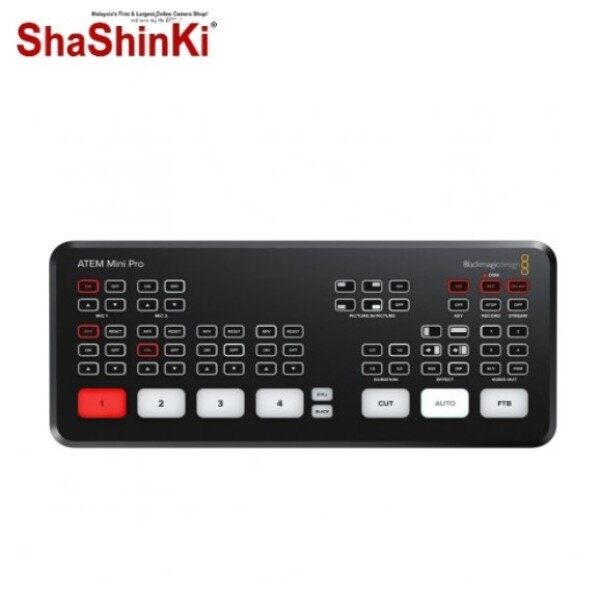 Blackmagic Design ATEM Mini Pro HDMI Live Stream Switcher Malaysia