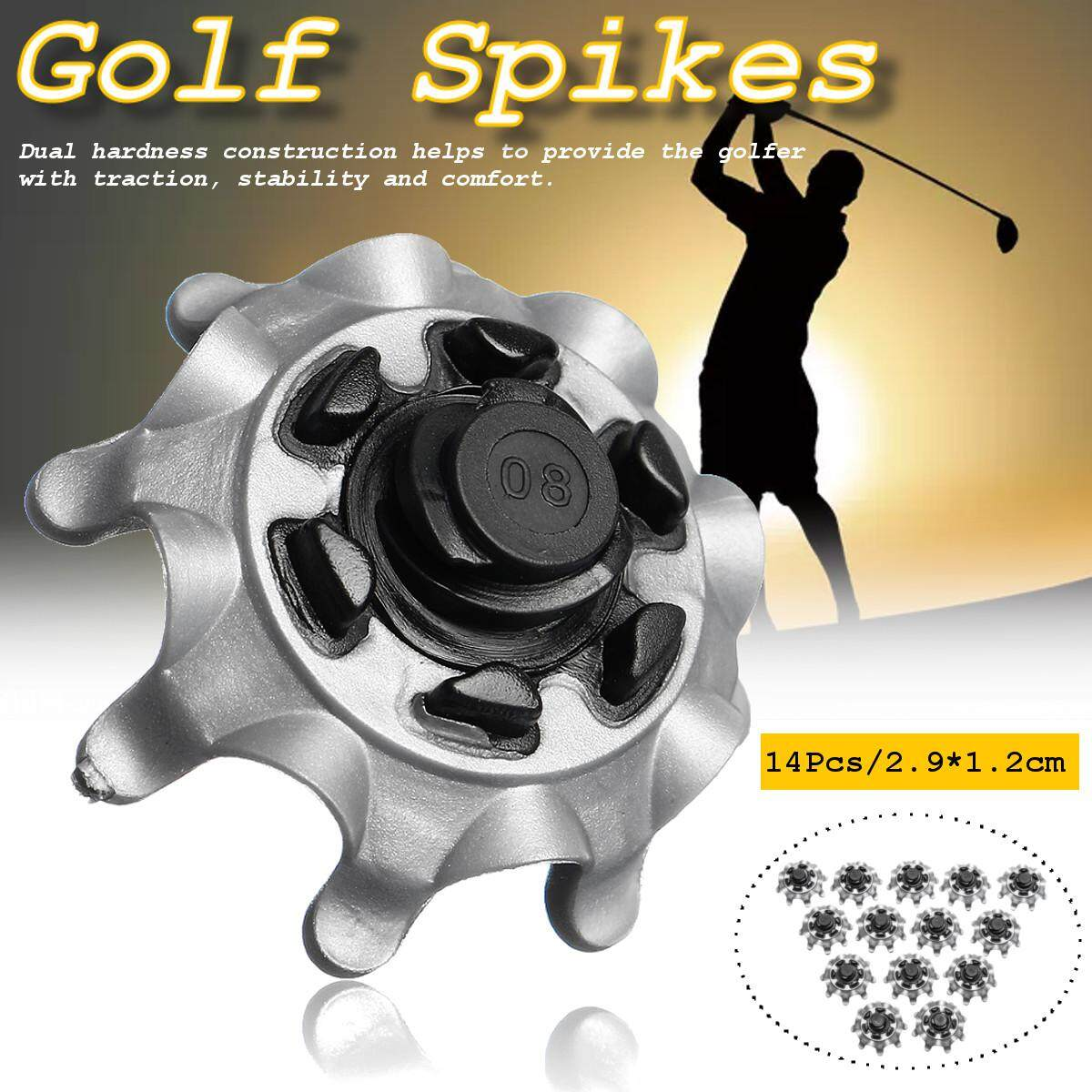 14Pcs Replacement Golf Shoes Spikes Studs Cleats Fast Twist For Footjoy