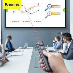 Bút điều khiển từ xa Baseus cho máy chiếu không dây chuyển đổi USB 2.4Ghz – INTL