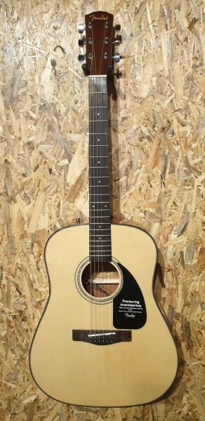 Fender CD-60 Nat-DS-V2 Acoustic-Electric Guitar Dreadnought with Fishman isys EQ New cd-60s Malaysia