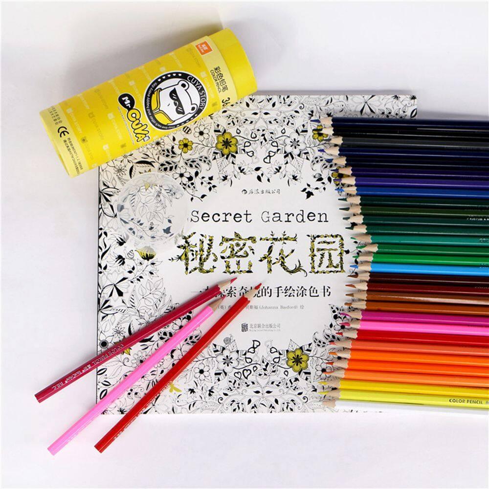 Mua 1 * Tranh Đầy Màu Sắc Cung Cấp 12/18/24/36 Chiếc Bút Chì Màu Nghệ Sĩ Sinh Viên Sơn Bút Chì Màu bộ Vẽ